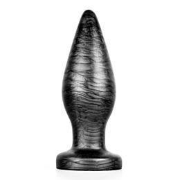 Sinnovator Oval Platinum Silicone Butt Plug (4 Sizes)