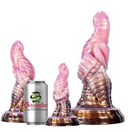 Sinnovator Mandrake Platinum Silicone Dildo 6.2 Inches to 10.6 Inches (3 sizes)