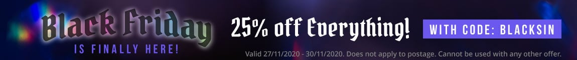 Get 20% Off In Our Big Black Friday Sale