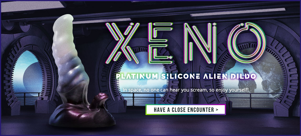 Sinnovator Xeno Platinum Silicone Dildo