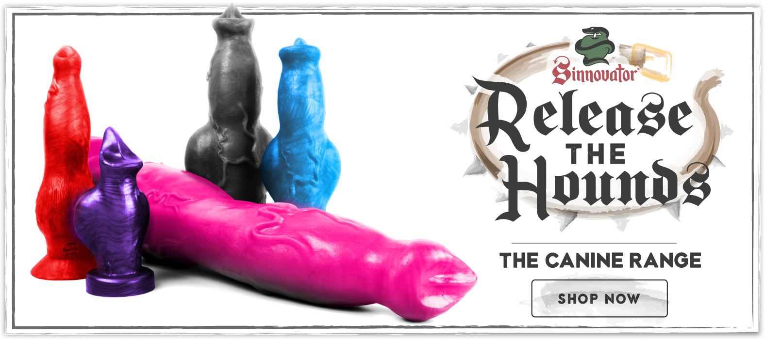 Canine Sex Toy Range from Sinnovator