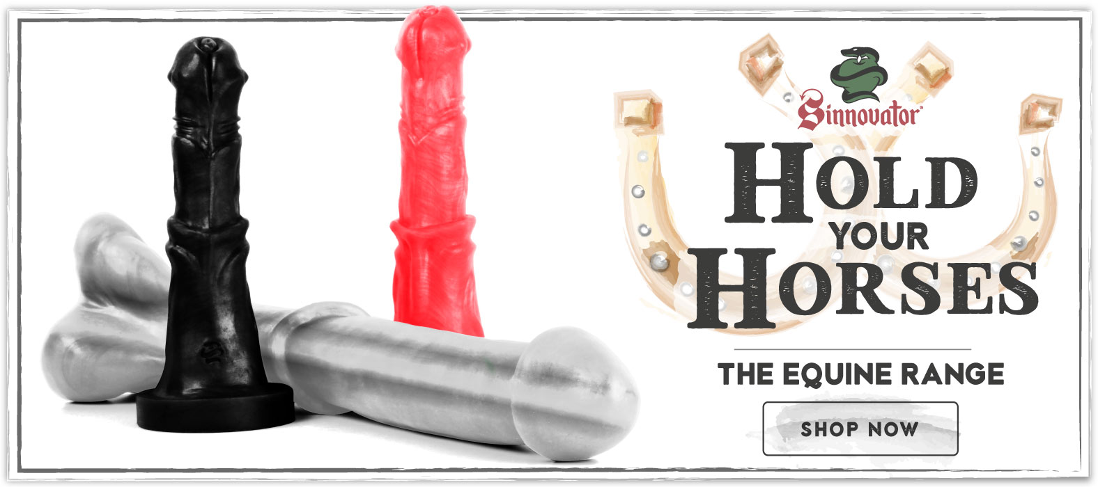Horse Sex Toy Range from Sinnovator